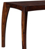 Dvina Four Seater Dining Table in Provincial Teak Finish by Woodsworth