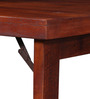 Savannah Space Saver Solid Wood Study Table in Honey Oak Finish by Woodsworth