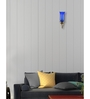 Lime Light Blue Glass Wall Mounted Light