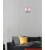 Lime Light Pink and White Glass Wall Mounted Light