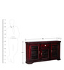 Bertlesen Sideboard in Passion Mahogany Finish by Amberville