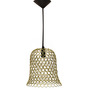 Logam Golden Iron Bell Hanging Lamp