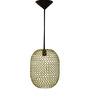 Logam Golden Iron Fat Bawb Hanging Lamp