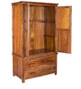 Logan Wardrobe in Warm Walnut Finish by Woodsworth