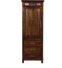 Lanford Wardrobe in Provincial Teak Finish by Amberville