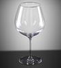 Lucaris Tokyo Temptation Burgundy Crystal 740 ML Wine Glasses- Set of 6