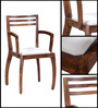 Dvina Chair in Provincial Teak Finish by Woodsworth