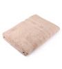 Lushomes Beige Cotton 27 x 55 Bath Towel