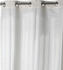 Lushomes Cream Polyester 82 x 72 Shower Curtain
