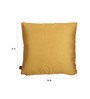Lushomes Golden Polyester 16 x 16 Inch Cushion Covers - Set of 10