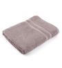 Lushomes Grey Cotton 27 x 55 Bath Towel