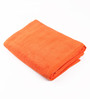 Lushomes Orange Cotton 27 x 55 Bath Towel