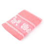 Lushomes Pink Cotton 24 x 48 Bath Towel