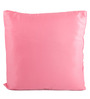 Lushomes Pink Polyester 16 x 16 Inch Bright & Fluffy Cushion Insert - Set of 2