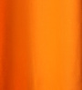 Lushomes Sun Orange Cotton 108 x 54 Inch Plain Long Door Curtain with 8 Eyelets & Plain Tiebacks - Set of 2