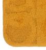 Lushomes Yellow Cotton 16 x 24 Bath Mat