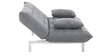 Madison 0Sofa Bed in Light Grey Colour by Furny
