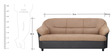 Madisson (3 + 1) Seater Sofa Set in Beige Colour by Furnitech