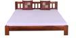 Amarillo King Size Bed in Honey Oak Finish by Woodsworth