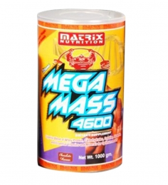 Matrix Nutrition Mega Mass-4600 (500 Grms)