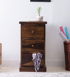 Maritsa Chest Of Three Drawers In Provincial Teak Finish By Woodsworth