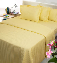 Mark Home Yellows Cotton 27 X 18 Pillow Covers - Set Of 2