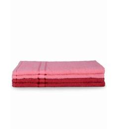 Mark Home Multicolour Cotton 24 X 16 Hand Towel - Set Of 4 - 1590650