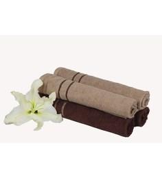 Mark Home Multicolour Cotton 24 X 16 Hand Towel - Set Of 4 - 1590652