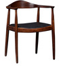 Austin Solid Wood Chair in Provincial Teak Finish by Woodsworth