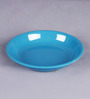 Machi Blue Melamine Dahi Bhalla Small Plates - Set Of 6