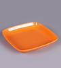 Machi Munchies Orange Melamine Medium Snack Plate - Set Of 6