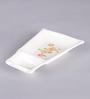 Machi Tango Snacky Melamine Twin Plate - Set Of 4