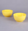 Machi Yellow Melamine 700 ML Big Noodle Bowl - Set Of 3