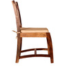 Renton Dining Chair in Natural Sheesham Finish by Woodsworth