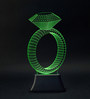 Madsbag Colour Changing Led Ring Table Night Lamp