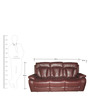 Magna Three Seater Recliner Sofa by Evok