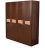 Magna Four Door Wardrobe in Walnut by HomeTown