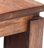Mahabala Coffee Table in Walnut Colour by Furnicheer