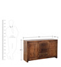 Ontario Sideboard in Provincial Teak Finish by Woodsworth