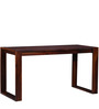 Henderson Study & Laptop Table in Honey Oak Finish by Woodsworth