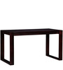 Henderson Study Table in Passion Mahogany Finish by Woodsworth