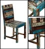Clapton Dining Chair in Distress Finish by Bohemiana