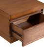 Marbella Night Stand in Beyond Cherry Finish by CasaCraft