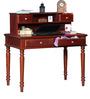 Bernal Study & Laptop Table in Honey Oak Finish by Amberville