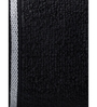 Mark Home Black Cotton 28 x 59 Bath Towel