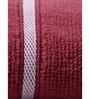 Mark Home Maroon Cotton 16 x 24 Hand Towel - Set of 2