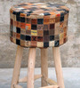 Marlboro Hand-Made Bar Stool in Tan Colour by The Rug Republic
