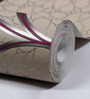 Marshalls Wallcoverings Grey & Purple Non Woven Fabric Wallpaper