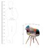 Imogen Cushion Chair in Multi Colour by Bohemiana