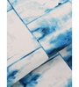 Inhouse By Maspar Wayfair Blue Printed 1 Double Bed Sheet With 2 Pillow Covers